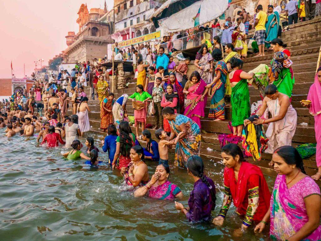 Ganges-Ghats-Varanasi-India