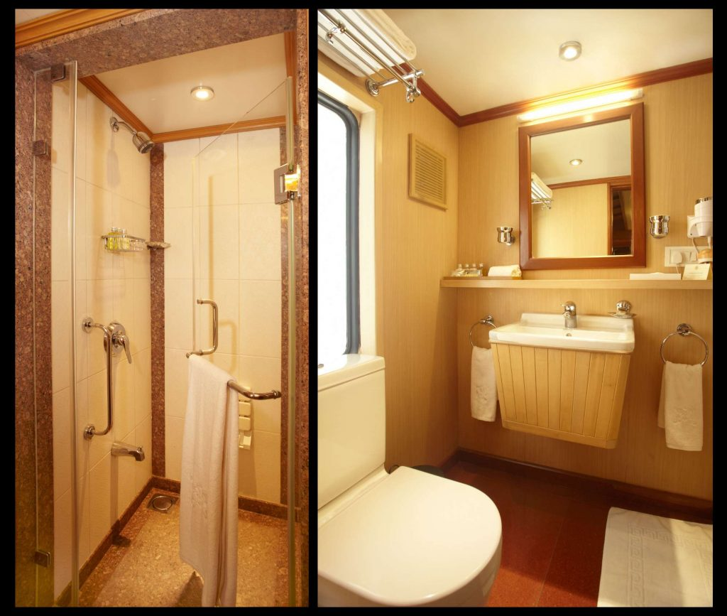 Junior Suite Shower & Toilet