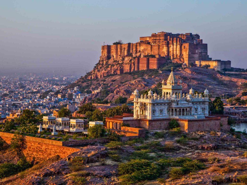 Mehrangarh-Fort-and-Jaswant-Thada-Mausoleum-Jodhpur-Rajasthan-India