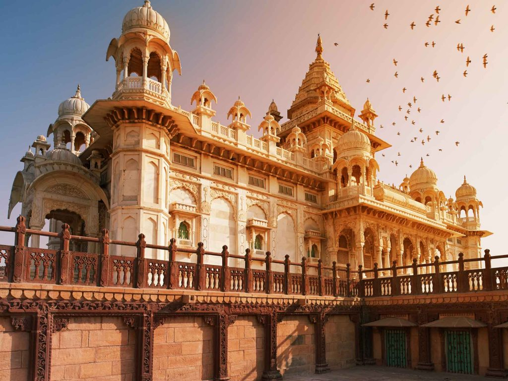 The,Jaswant,Thada,Is,A,Cenotaph,Located,In,Jodhpur,,In