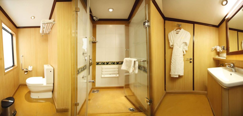 Deluxe Cabin Shower & Toilet